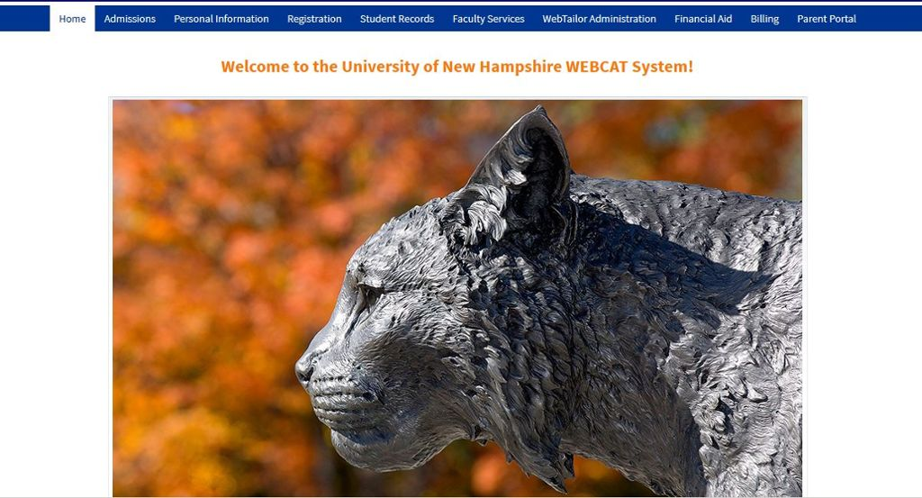 Image result for webcat unh